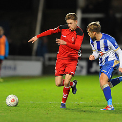 TELFORD COPYRIGHT MIKE SHERIDAN 12/1/2019 - Henry Cowans of AFC Telford during the Vanarama Conference North fixture between AFC Telford United and Hartlepool United at the Super Six Stadium.