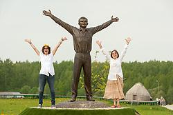 Statue of Yuri Alekseyevich Gagarin was a Russian-Soviet pilot and cosmonaut.