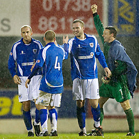 St Johnstone FC December 2008