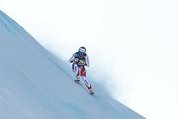 29.12.2017, Stelvio, Bormio, ITA, FIS Weltcup, Ski Alpin, alpine Kombination, Abfahrt, Herren, im Bild Luca Aerni (SUI) // Luca Aerni of Switzerland in action during the downhill competition for the men's Alpine combination of FIS Ski Alpine World Cup at the Stelvio course, Bormio, Italy on 2017/12/29. EXPA Pictures © 2017, PhotoCredit: EXPA/ Johann Groder