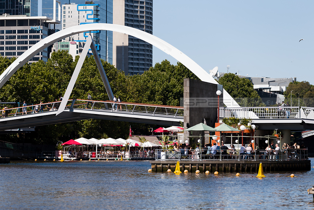 Water venues on the Yarra are full of patrons during the 35th day of zero COVID-19 cases in Victoria, Australia. School and community sport is ramping up and as the weather improves, more people are venturing out and about to enjoy this great city. Pressure is mounting on Premier Daniel Andrews to keep his promise of removing all remaining restrictions. (Photo by Dave Hewison/Speed Media)