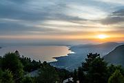 Montreux, juin 2019. Balade sur les traces de Freddie Mercury à Montreux qui accueille le Jazz Montreux Festival.  Vue depuis le chalet de Claude Nobs. © Olivier Vogelsang