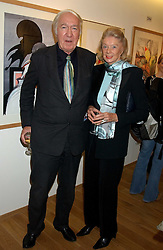 ANDREW & SONIA SINCLAIR at a party to celebrate the publication of Drawing Blood -Forty-Five Years of Scarfe Uncensored, a book of Gerald Scarfe's work held at The Fine Arts Society, New Bond Street, London on 3rd November 2005.<br /><br />NON EXCLUSIVE - WORLD RIGHTS