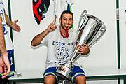 Marco Spissu, Spogliatoi<br /> Banco di Sardegna Dinamo Sassari - Umana Reyer Venezia<br /> Finale Zurich Connect Supercoppa LBA 2019<br /> Bari, 22/09/2019<br /> Foto L.Canu / Ciamillo-Castoria