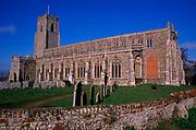 A752W2 Holy Trinity church Blythburgh Suffolk England
