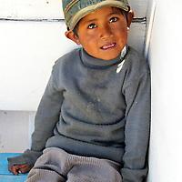 Boy of Lake Titicaca