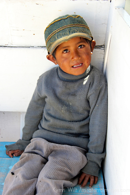 Boy of Lake Titicaca