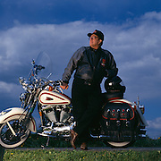 Richard Teerlink, President and CEO of Harley Davidson