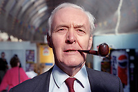 Veteran Labour politician, Tony Benn, annual conference, Labour Party, UK, September 1994, 19940930TB5<br />