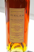 Gelas Bas Armagnac 18 ans d'Age eighteen years old made from grape variety Baco