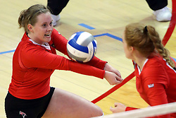 07 October 2017:  Kendal Meier during a college women's volleyball match between the Crusaders of Valparaiso and the Illinois State Redbirds at Redbird Arena in Normal IL (Photo by Alan Look)