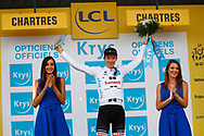 Podium, Hotess, Miss, Soren Kragh Andersen (DEN - Team Sunweb) during the 105th Tour de France 2018, Stage 7, Fougeres - Chartres (231km) on July 13th, 2018 - Photo Luca Bettini / BettiniPhoto / ProSportsImages / DPPI