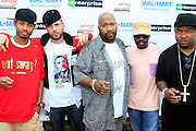 """Terrence J, DJ Drama, Bun B, Anthony Hamilton and Guerilla Zoe at the Hip-Hop Summit's """"Get Your Money Right"""" Financial Empowerment International Tour draws hip-hop stars and financial experts to teach young people about financial literacy held at The Johnson C. Smith University's Brayboy Gymnasium on April 26, 2008..For the past three years, hip-hop stars have come out around the country to give back to their communities. Sharing personal stories about the mistakes they've made with their own finances along the way, and emphasizing the difference between the bling fantasy of videos and the realities of life, has helped young people learn the importance of financial responsibility while they're still young. With the recent housing market crash in the United States affecting the economy, jobs, student loans and consumer confidence, young people are eager to receive sound financial advice on how to best manage their money and navigate through this volatile economic environment.."""