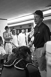 26 April 2009: Duke Blue Devils head coach John Danowski  during a 15-13 win over the North Carolina Tar Heels during the ACC Championship at Kenan Stadium in Chapel Hill, NC.