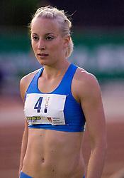 Triple jumper Maja Bratkic at 4th Memorial of Matic Sustersic and Patrik Cvetan athletic meeting of Grand Prix Vzajemna, on June 1, 2009, in ZAK, Ljubljana, Slovenia. (Photo by Vid Ponikvar / Sportida)