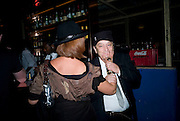 ARCHDUCHESS Francesca von Habsburg; NORMAN ROSENTHALL,  Prada Congo Art Party hosted by Miuccia Pada and Larry Gagosian. The Double Club,  Torrens St. London EC1. The Double Club is A Carsten Holler project by Fondazione Prada. 10 February 2009. *** Local Caption *** -DO NOT ARCHIVE-© Copyright Photograph by Dafydd Jones. 248 Clapham Rd. London SW9 0PZ. Tel 0207 820 0771. www.dafjones.com.<br /> ARCHDUCHESS Francesca von Habsburg; NORMAN ROSENTHALL,  Prada Congo Art Party hosted by Miuccia Pada and Larry Gagosian. The Double Club,  Torrens St. London EC1. The Double Club is A Carsten Holler project by Fondazione Prada. 10 February 2009.