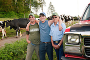 The Bishops of Chimacum, Washington own one of the last dairy farms on the Olympic Pennisula.