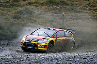 MOTORSPORT - WORLD RALLY CHAMPIONSHIP 2010 - WALES RALLY GB / RALLYE DE GRANDE-BRETAGNE - CARDIFF (GBR) - 11 TO 14/11/2010 - PHOTO : ALEXANDRE GUILLAUMOT / DPPI - <br /> PETTER SOLBERG (NOR) / CHRIS PATTERSON (GBR) - CITROËN C4 WRC - PETTER SOLBERG WORLD RALLY TEAM - ACTION