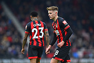 Kyle Taylor (28) of AFC Bournemouth during the The FA Cup 3rd round match between Bournemouth and Brighton and Hove Albion at the Vitality Stadium, Bournemouth, England on 5 January 2019.
