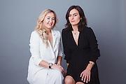 Business partners Katrina and Nanuchi, New York City, 2017.