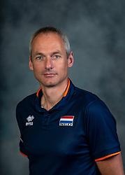 21-05-2019 NED: Team shoot Dutch volleyball team men, Arnhem<br /> Ass. coach Henk-Jan Held of Netherlands