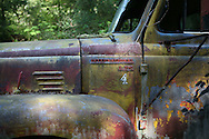 Old International Fire Truck for logging