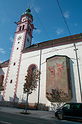 St. Joseph church in maria theresa Street, Innsbruck, Austria,