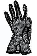 black glove