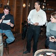 Repetitie Dinnershow 2000 met Arno Kolenbrander, Franklin Brown en Laura de Cock