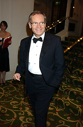 LORD ARCHER at the children's charity ChildLine 19th Birthday Ball held at the Grosvenor House Hotel, Park Lane, London on 29th October 2005.<br /><br /><br />NON EXCLUSIVE - WORLD RIGHTS