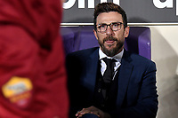 Eusebio Di Francesco of AS Roma looks on before the Serie A 2018/2019 football match between ACF Fiorentina and AS Roma at stadio Artemio Franchi, Firenze, November 03, 2018 <br />  Foto Andrea Staccioli / Insidefoto