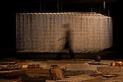 Belo Horizonte_MG, Brasil...Exposicao Seu Sami, do artista plastico Hilal Sami Hilal, no Palacio das artes em Belo Horizonte, Minas Gerais...The exhibition Seu Sami, the plastic artist Hilal Sami Hilal at the Palacio das Artes in Belo Horizonte, Minas Gerais...Fotos: LEO DRUMOND / NITRO
