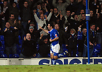 Photo: Ashley Pickering.<br />Ipswich Town v Burnley. Coca Cola Championship. 02/12/2006.<br />Alan Lee celebrates the equaliser for Ipswich