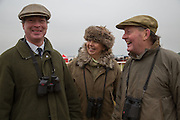 CHRISTOPHER COX; LIZ WILLS; JOHN WILLS, Heythrop Point to Point. At a  new course at Cocklebarrow near Aldsworth. 11 January 2014