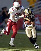 NFL-New Orleans Saints at Arizona Cardinals-Oct 3, 2004