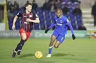 AFC Wimbledon midfielder Jimmy Abdou (8) chasing down the ball during the EFL Sky Bet League 1 match between AFC Wimbledon and Blackburn Rovers at the Cherry Red Records Stadium, Kingston, England on 27 February 2018. Picture by Matthew Redman.