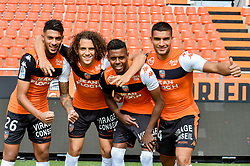 September 12, 2017 - France - Bouanga Denis (FC Lorient) - Selemani Faiz (FC Lorient) - Rose Lindsay (FC Lorient) - Guendouzi Olie Matteo  (Credit Image: © Panoramic via ZUMA Press)