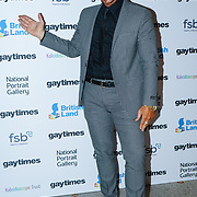 Simon Gross attend the Gay Times Honours on 18th November 2017 at the National Portrait Gallery in London, UK.