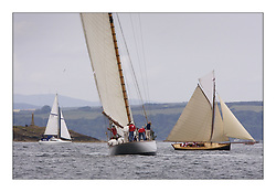 The Lady Anne 1912 and Ayrshire Lass 1887 Gaff Cutter at the head of Cumbrae...The Round Cumbraes race at Larsg starting the 3rd Fife Regatta...* The Fife Yachts are one of the world's most prestigious group of Classic .yachts and this will be the third private regatta following the success of the 98, .and 03 events.  .A pilgrimage to their birthplace of these historic yachts, the 'Stradivarius' of .sail, from Scotland's pre-eminent yacht designer and builder, William Fife III, .on the Clyde 20th -27th June.   . ..More information is available on the website: www.fiferegatta.com . .Press office contact: 01475 689100         Lynda Melvin or Paul Jeffes