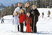 Fotosessie met de koninklijke familie in Lech 2013