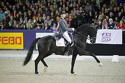 Van Grunsven Anky (NED) - IPS Painted Black<br /> CDI-W Amsterdam 2010<br /> © Hippo Foto - Leanjo de Koster