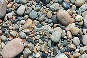 Granite beach stones, isle au Haut, Maine