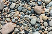 Granite beach stones, isle au Haut, Maine