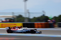 June 22, 2018 - Le Castellet, Var, France - Sauber Driver MARCUS ERICSSON (SWE) in action during the Formula one French Grand Prix at the Paul Ricard circuit at Le Castellet - France (Credit Image: © Pierre Stevenin via ZUMA Wire)