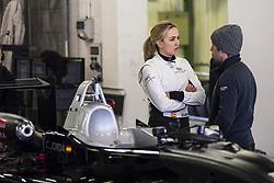 February 17, 2018 - Barcelona, Catalonia, Spain - The Spanish driver Carmen Jorda member the FIA Womens commission during a test of the Euroformula Open F3 with Porteiro Motorsport team at Circuit de Barcelona - Catalunya in Barcelona on 17 of February, 2018. (Credit Image: © Xavier Bonilla/NurPhoto via ZUMA Press)