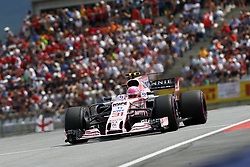 July 9, 2017 - Spielberg, Austria - Motorsports: FIA Formula One World Championship 2017, Grand Prix of Austria, ..#31 Esteban Ocon (FRA, Sahara Force India F1 Team) (Credit Image: © Hoch Zwei via ZUMA Wire)