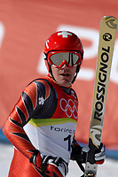 Photo: Catrine Gapper.<br /> Winter Olympics, Turin 2006. Alpine Skiing Downhill. 12/02/2006.