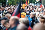 Demo in Chemnitz am 1. September 2018.. Photo Siggi Bucher