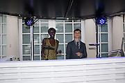 JENNY BASTET; JOSH LUDLOW, 2016 SERPENTINE SUMMER FUNDRAISER PARTY CO-HOSTED BY TOMMY HILFIGER. Serpentine Pavilion, Designed by Bjarke Ingels (BIG), Kensington Gardens. London. 6 July 2016