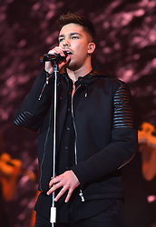 Matt Terry on stage during day two of Capital's Jingle Bell Ball 2017 with Coca-Cola at the O2 Arena, London.<br />Picture Credit Should Read: Doug Peters/EMPICS Entertainment